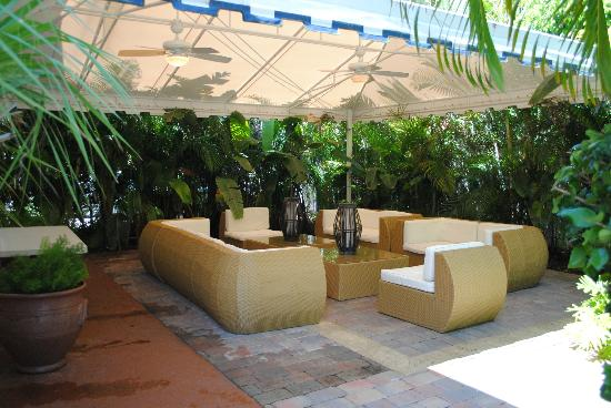 Ocean Lodge: Nice lounge or sitting area for evening