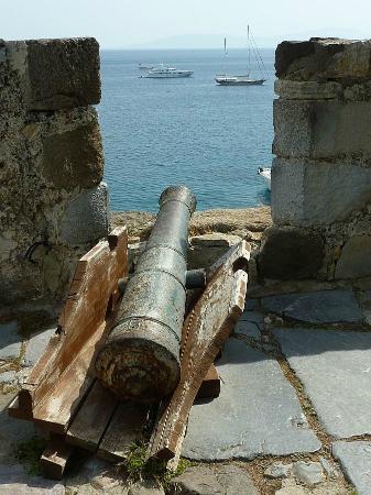 An Ottoman Cannon On The Castle Battlements No Longer Poses Danger