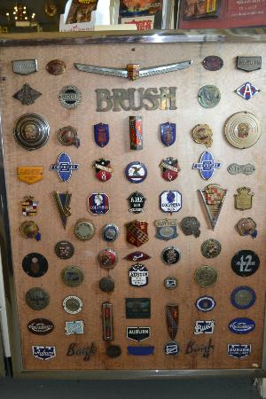 Swigart Auto Museum: Part of extensive badge collection