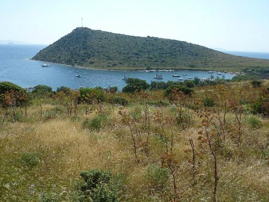 Gumusluk, Turkey: Gümüşlük Bay is listed on Admiralty charts as a safe anchorage.