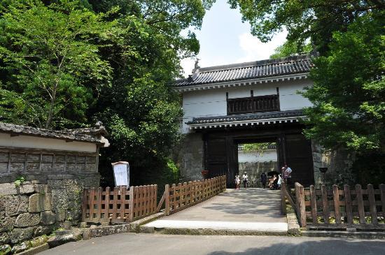 Nichinan, Japan: 城門の様子