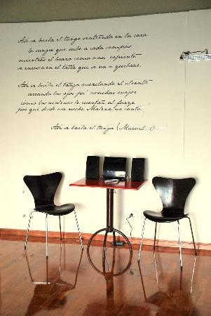 Tango Lodge: Tango studio
