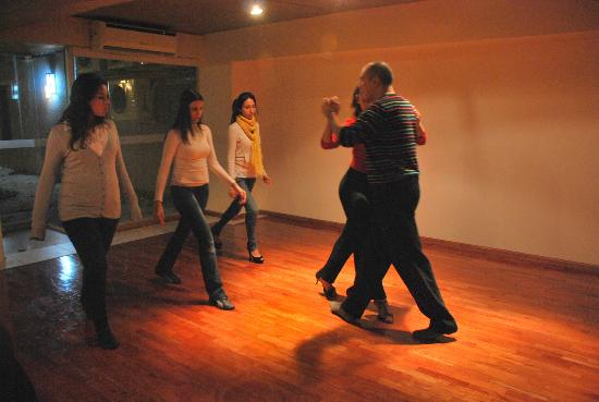 Tango Lodge: Tango lesson