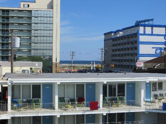 SeaGull Motel : Vue sur la plage