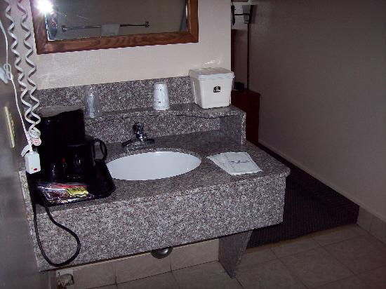 BEST WESTERN Paradise Inn: Sink