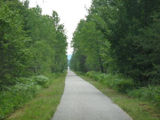 Parc Lineaire le P'tit Train du Nord : Between Val-Barrette and Mont Laurier