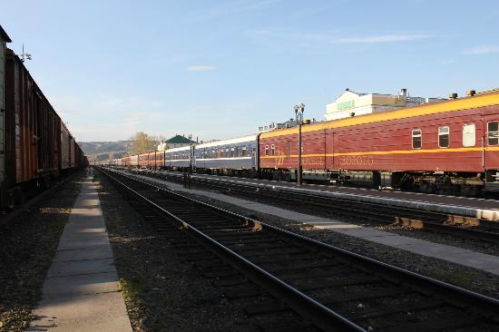 Trans siberian railway russian train — img 12