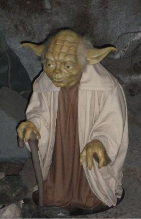The Wax Works: Neat Star Wars exhibit that is interactive