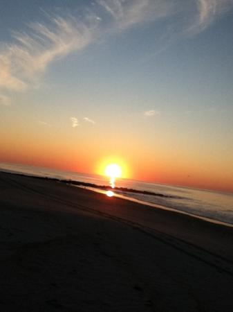 Long Beach Island, NJ: the sunrise