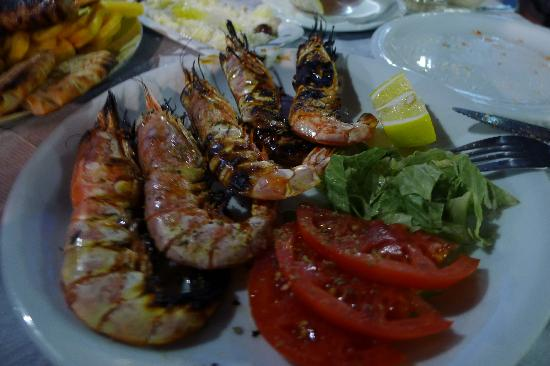 Estia Traditional Grill House: Grilled Shrimps