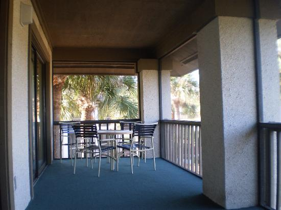 Legacy Vacation Resorts-Palm Coast: Screened lanai