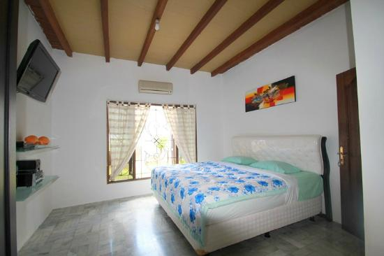Palma Bed & Breakfast : Superior Room for 2 persons - 32usd/nite. King sized bed - Cable TV - DVD Player - Private Show