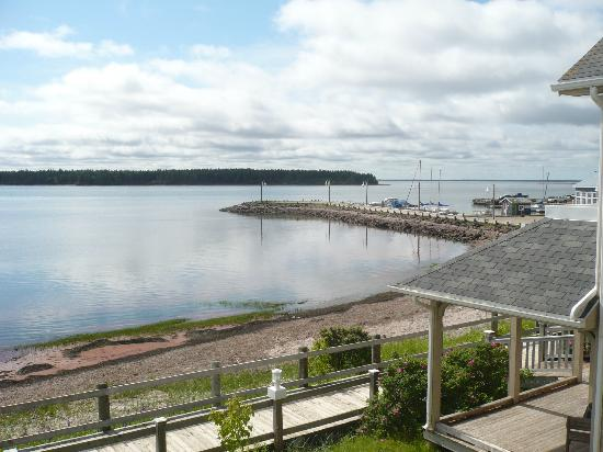 Northport Pier Inn: view from our balcony