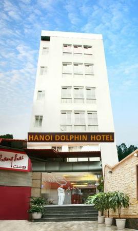 Hanoi Dolphin Hotel: Building