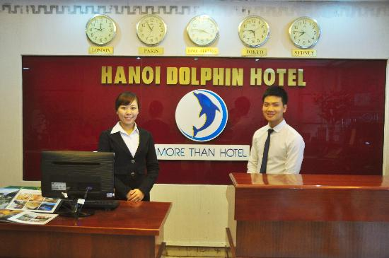 Hanoi Dolphin Hotel: Reception Department