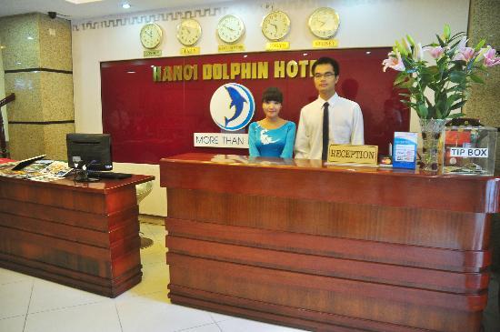 Hanoi Dolphin Hotel: Reception Department