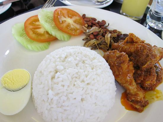 The Sterling Boutique Hotel Melaka : Delicious Nasi Lemak