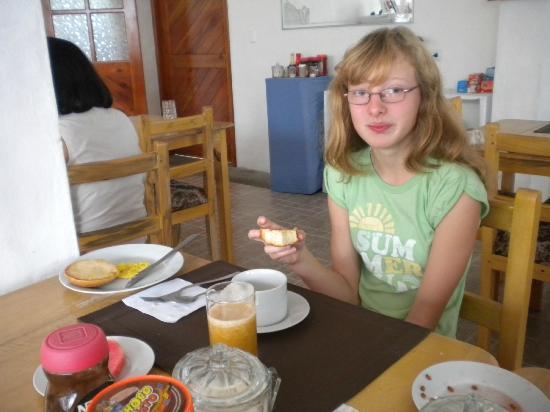 Hotel  La Casa de Judy: El desayuno