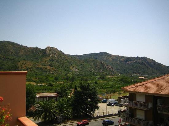 D'Orange D'Alcantara: Vue de la terrasse