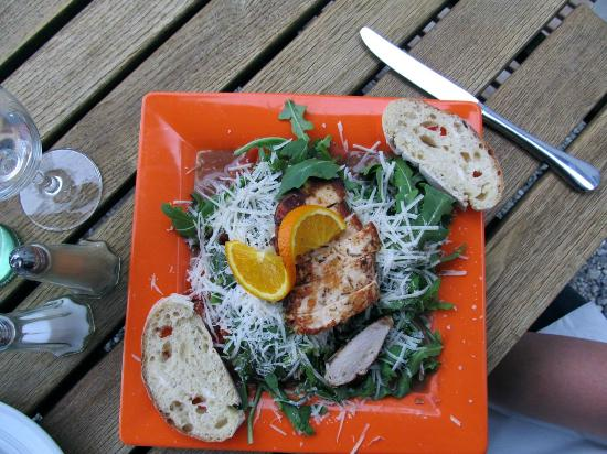Alte Muhle: My wife's chicken salad that was very good!