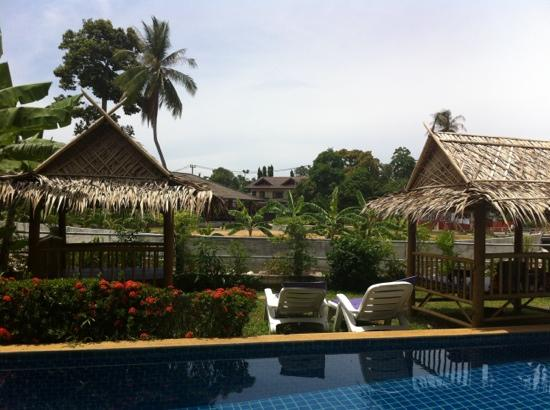 Lamai Beach Residence: tuin