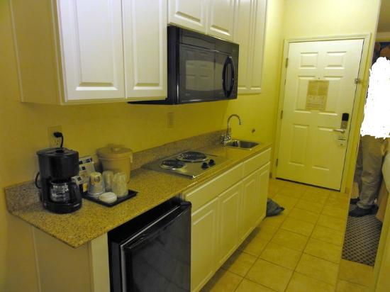 Holiday Inn Express & Suites: Entry area and kitchen of the suite