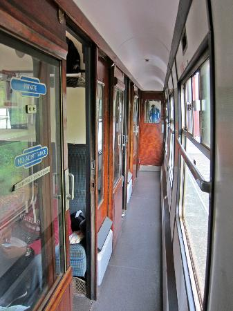 Jacobite Steam Train : Harry Potter carriage