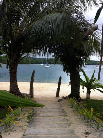 Oyster Island Resort: View from main beach