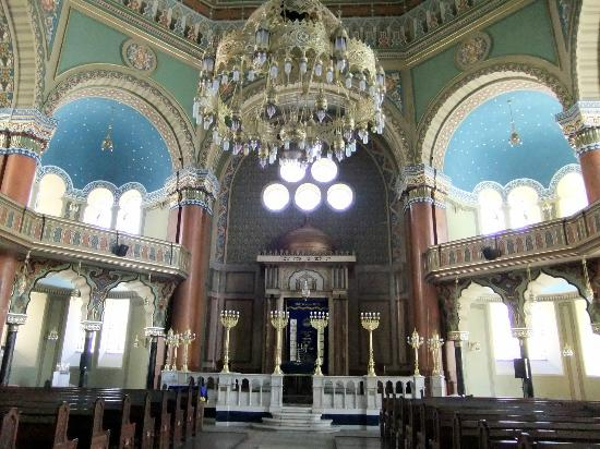Central Sofia Synagogue (Tsentralna Sofiiska Sinagoga): the main hall