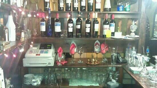 antalya restaurant: just some of our wine selection