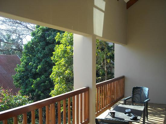 Honeywood: Perfect verandah for morning coffee