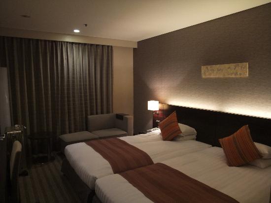 Narita Excel Hotel Tokyu: ツインのお部屋です。