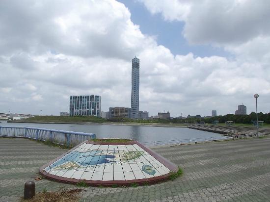 Chiba Port Park: ビーチプラザと千葉ポートタワー