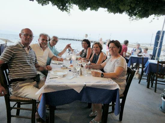Agkyra Fish Restaurant : tre coppie da bari