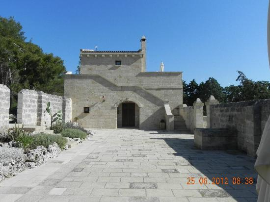 Masseria Caliani: corte