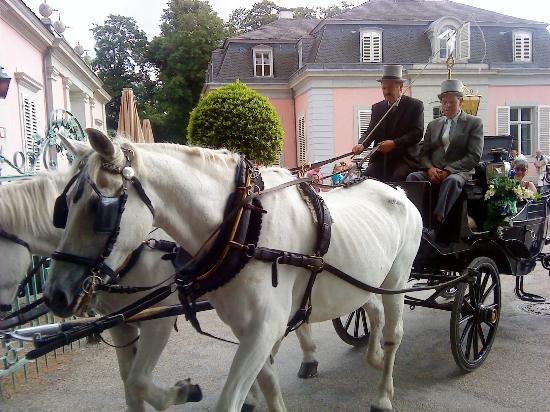 Schloss Benrath: Part of the Procession of the schützenfest