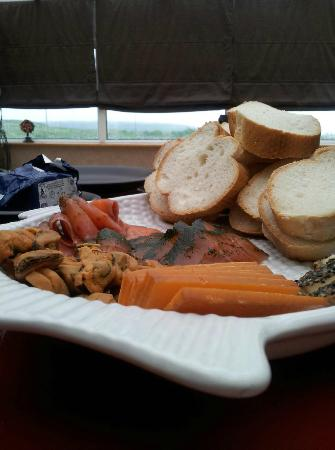 Marrbury Smokehouse: A platter that we made of all the lovely things!