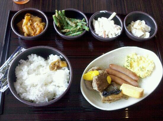 Candeo Hotels Chino : Japanese breakfast