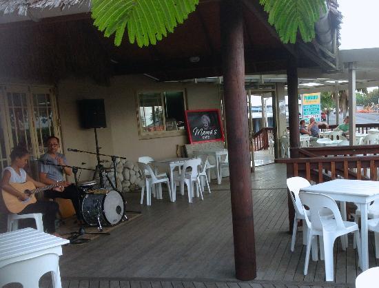 Sea-Salt: Mamas Cafe - Rarotonga, Cook Islands