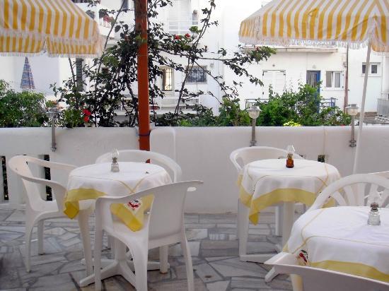 Marisa Rooms: terrazzo in comune