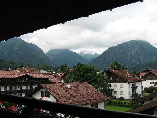 Hotel Filser: View from balcony