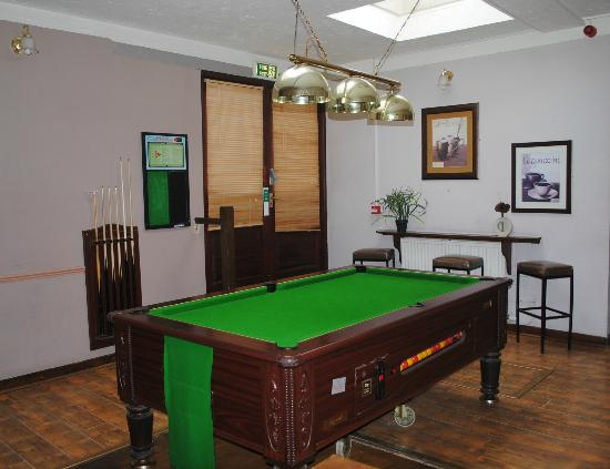 The Beaufort Arms: The Pool Room