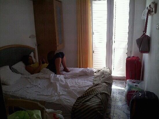 Hotel Tramonto d'Oro: la mini camera