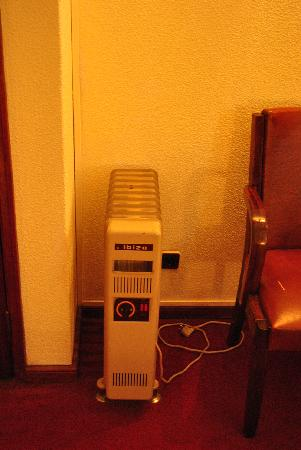 Hotel Peninsular: a little heater