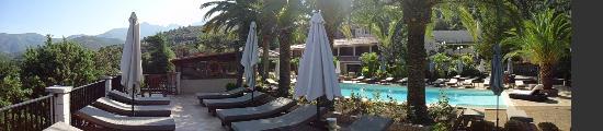 Domaine de l'Oriu: Photo hotel & piscine 