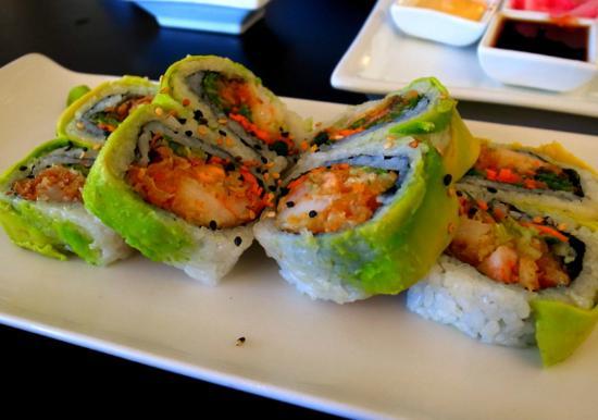 Japanika special rolls.