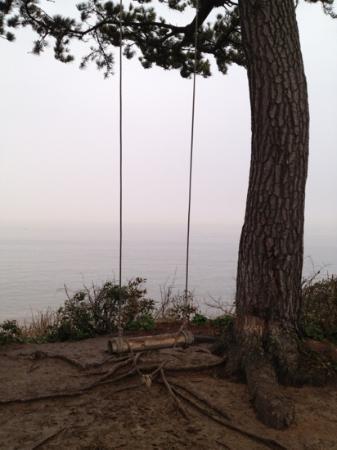 Himakajima: 島の先端の丘に有る【ハイジのブランコ】