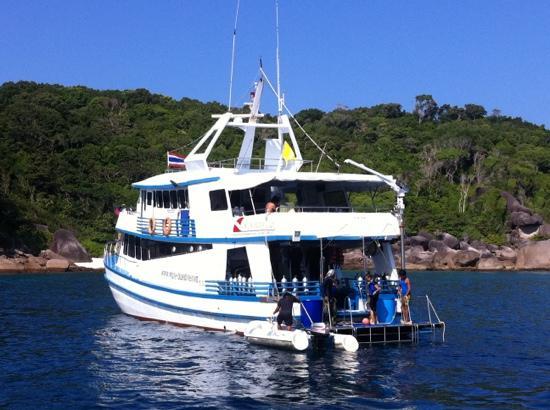 Similan Islands, Thailand: P.P Harmony by Similan Seven Sea Club