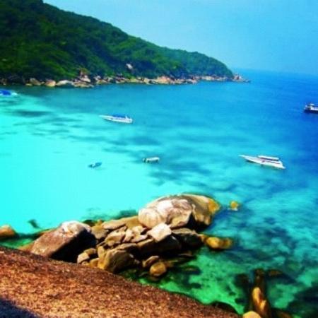 Similan Islands, Thailand: Similan Island 8 viewpoint