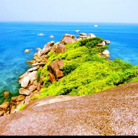 Similan Islands, Thailand: viewpoint Similan Island 8